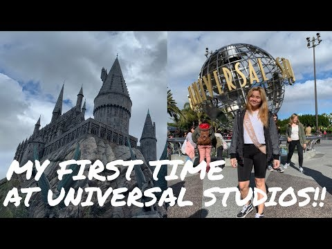 MY FIRST TIME AT UNIVERSAL STUDIOS!!! | Sherlly Gama