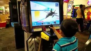 Chuck E Cheese   After Burner Climax Game Fun
