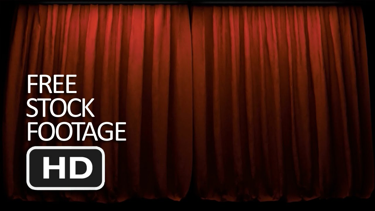 Big event red curtains with spotlight stock photo getty images - Free Stock Footage Red Curtain Loop Hd Youtube
