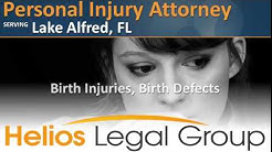 Lake Alfred Personal Injury Attorney - Florida