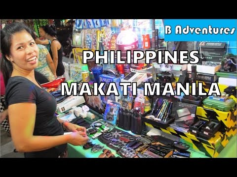 Makati Manila: Clipper Hotel, BAGA Food Bazaar, Nightlife, Philippines S1 Ep1