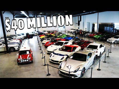 THE BEST $40 MILLION SUPERCAR COLLECTION IN CANADA !!