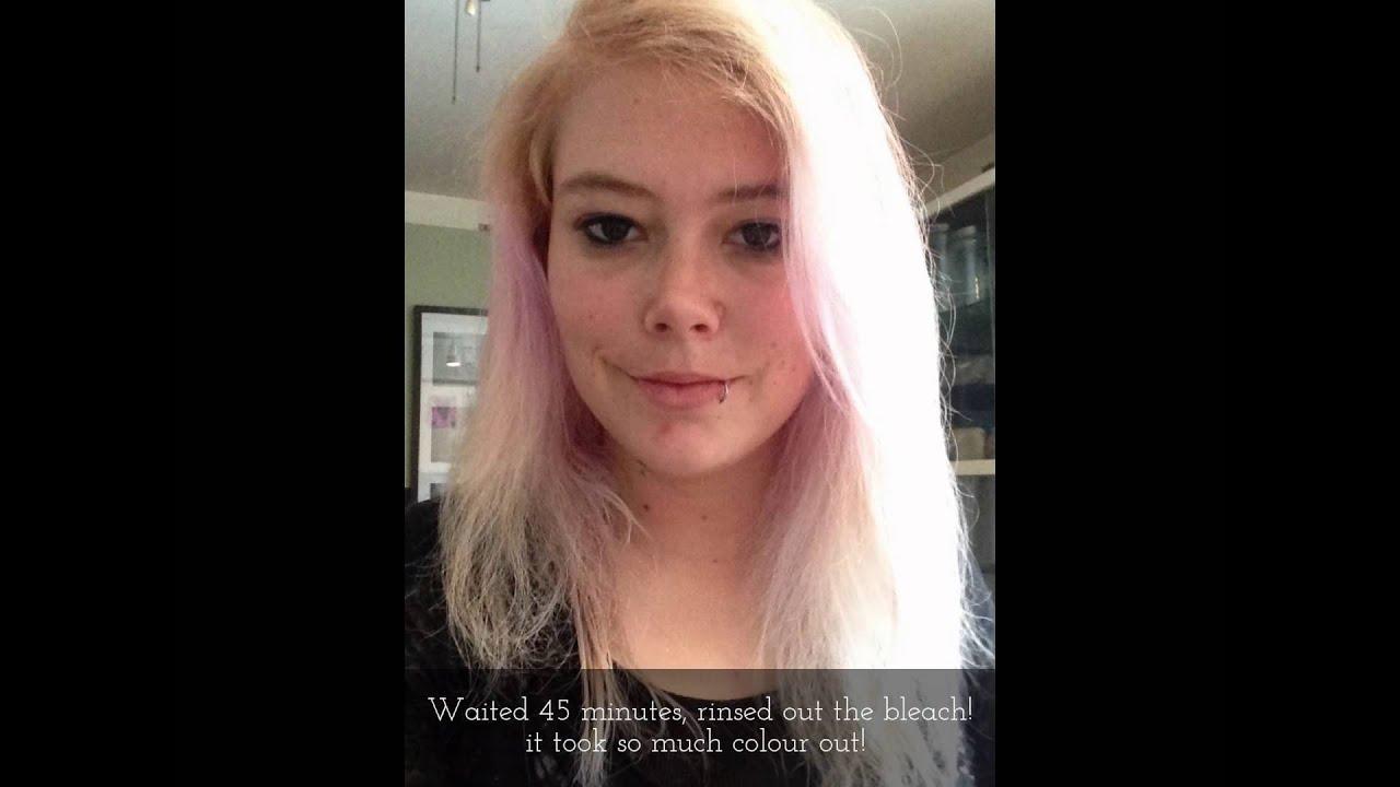 Hair Transformation Using Ion Intense Medium Red Youtube