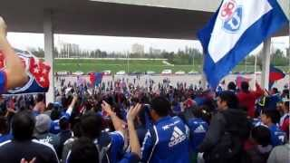 Apertura Final Bandera Gigante - Universidad de Chile (HD) - Parque O