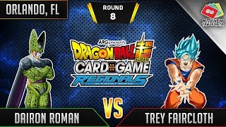 Dragon Ball Super Card Game Gameplay [DBS TCG] Orlando Regional Round 8
