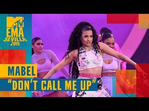 "Download Lagu  Mabel – ""Don't Call Me Up"" LIVE | MTV EMA 2019 Mp3 Free"