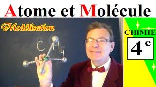 Baixar Chimie 4ème : Atomes et molécules, définition et modélisation