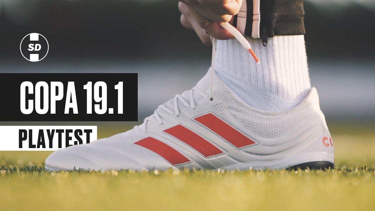 PLAY TEST | ADIDAS COPA 19.1 | SD Football