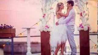 Флористика и декор. Свадьба в ресторане Паруса. Выездная регистрация и банкет.
