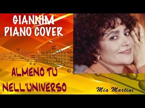 Almeno Tu Nell'universo (Mia Martini) - Cover Piano By GianniM