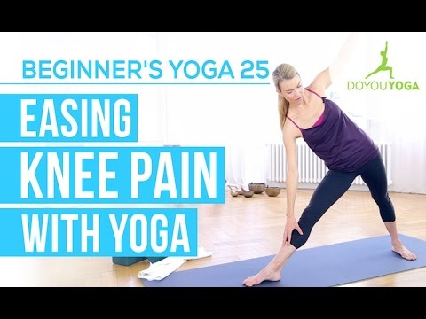 easing knee pain with yoga  session 25  yoga for