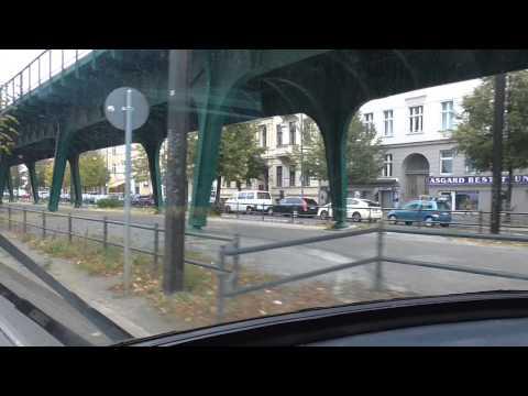 Berlin: Strassenbahn Pankow - Bahnhof Friedrichstrasse. Tram ride Pankow to Friedrichstrasse Station