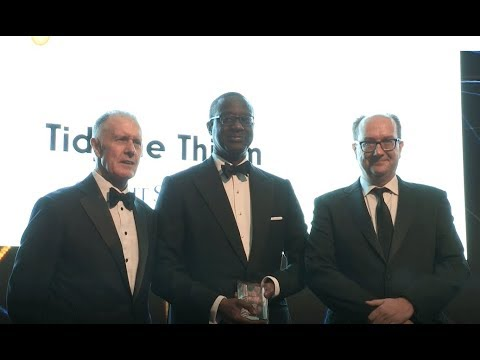 Credit Suisse's Tidjane Thiam is named banker of the year at Euromoney's Awards for Excellence 2018