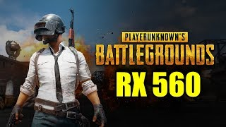 PlayerUnknown's Battlegrounds RX 560 4GB OC | 1080p - 900p | FRAME-RATE TEST