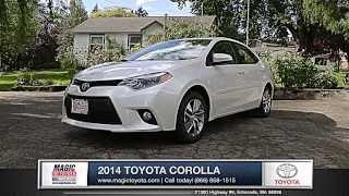 2014 Toyota Corolla Review  | Magic Toyota - Toyota Dealer in Edmonds, WA