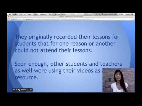 The Flipped Classroom: An Overview for the ESL Teacher