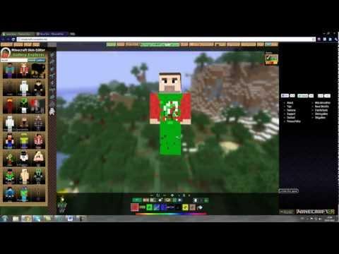 Как создать скин MineCraft