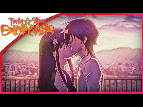 Rokuro X Benio Ending Kiss Scene Twin Star Exocrists Sosei no Onmyoji English Sub