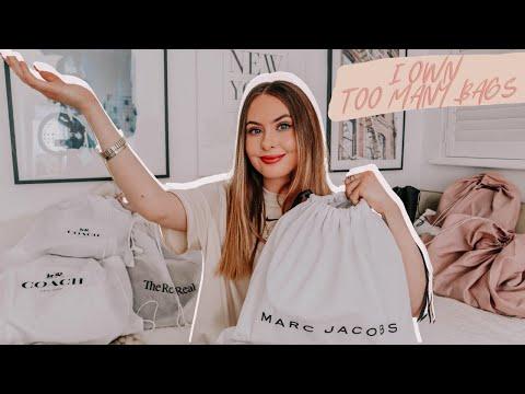 LUXURY DESIGNER BAG COLLECTION | Marc Jacobs, Prada, Coach, Versace And More. Highend Handbags 2020.