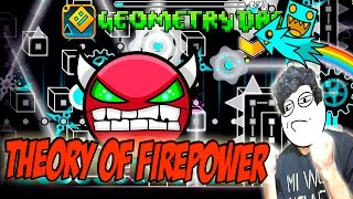GEOMETRY DASH - (Hard Demon) - 35 - Theory Of Firepower by CreatorRami