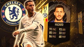 IF STRIKER HAZARD 91! THIS CARD IS INSANE! FIFA 18 ULTIMATE TEAM