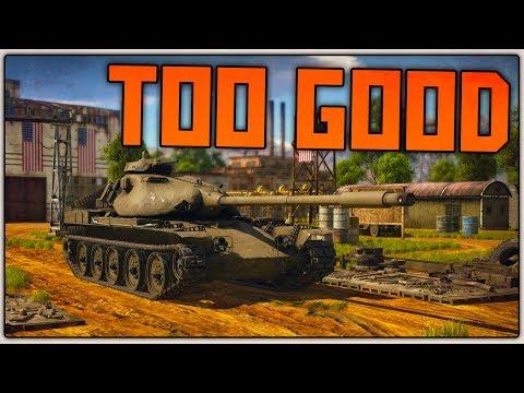 BROKEN TANK | T95E1 (War Thunder SB Gameplay)