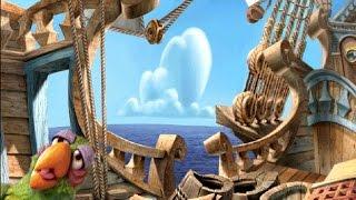 Muppet Treasure Island (PC) game - Scene 3, The Hispaniola