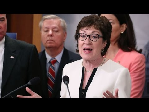 GOP Sen. Susan Collins says she won