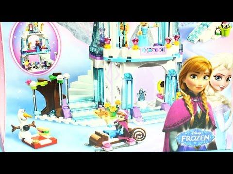 Elsa's Sparkling Ice Castle / Ледяной замок Эльзы - Frozen - Lego Disney Princess - 41062