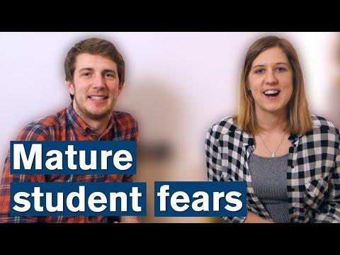 Vlog: Mature Student Fears