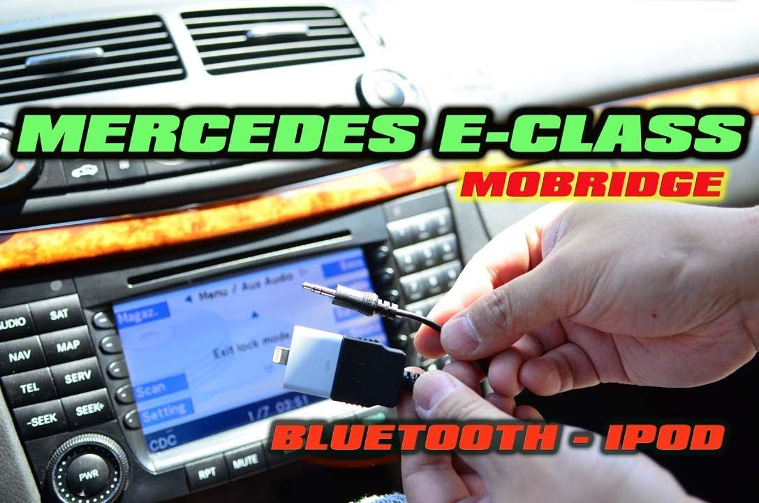 Mercedes E Class Bluetooth Amp Ipod Aux Mobridge Abt2010 W211 E320 Youtube