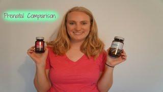 Honest Company Prenatals Comparasion
