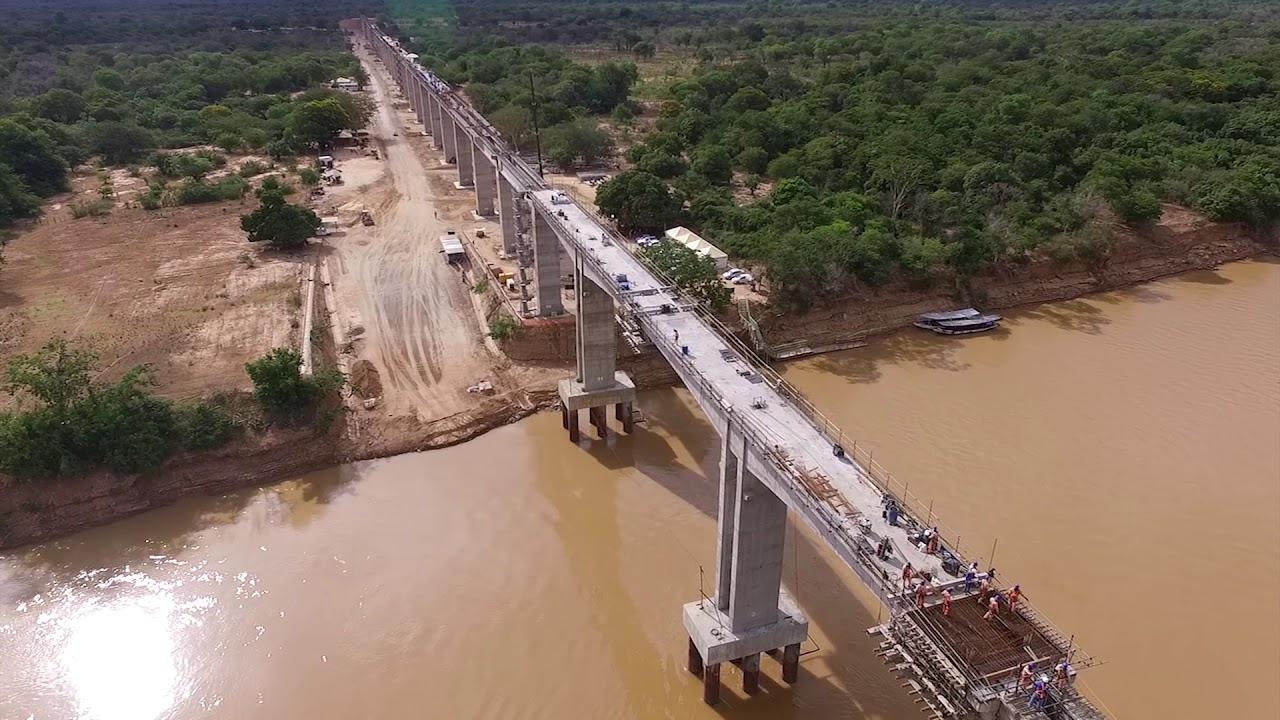 Ponte Ferroviária Sobre o Rio São Francisco - Janeiro/2018 - YouTube