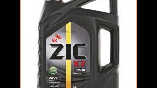 Моторное масло ZIC X7 DIESEL 5W-30 4л синтетическое