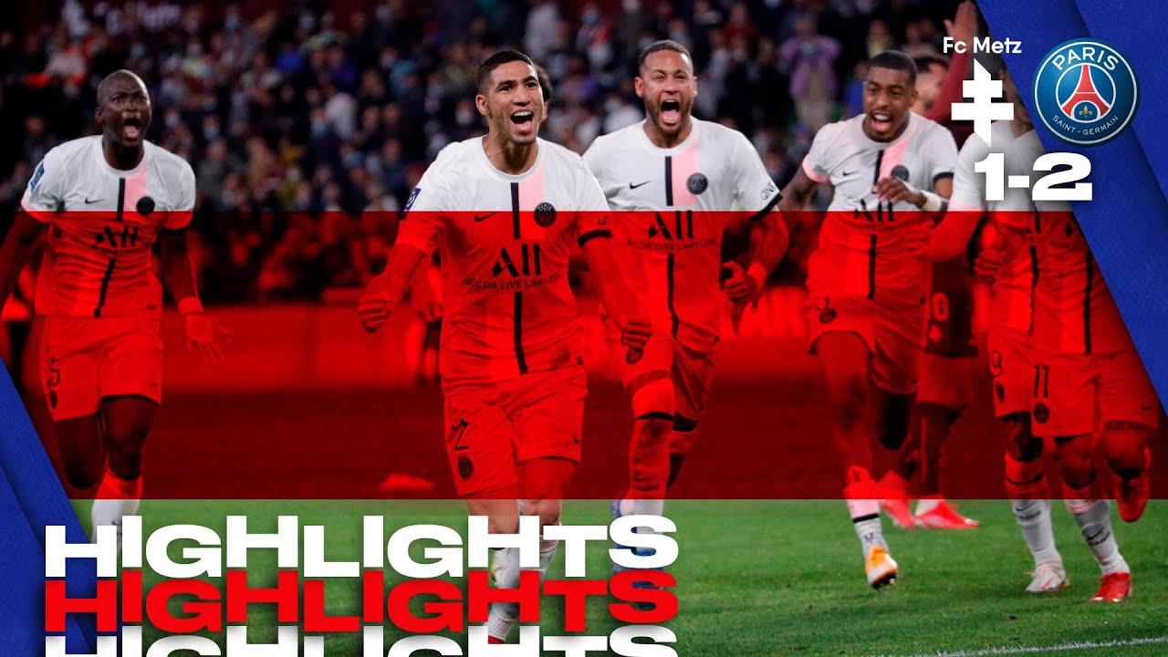 Download HIGHLIGHTS | METZ 1-2 PSG