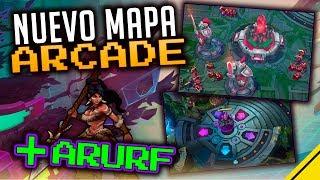 Nuevo MAPA ARCADE y ARURF | Noticias League Of Legends LOL
