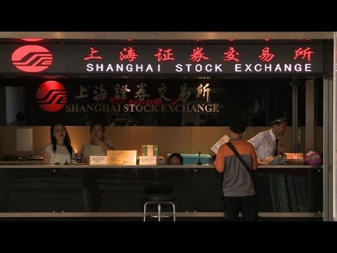 Chinese stock markets closed as shares plunge 7%