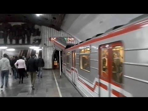Tbilisi, Georgia metro Station  Ghrmaghele. Тбилиси, станция метро Грмагеле.