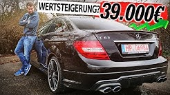 Mercedes Benz C63 AMG Coupe | 457 PS V8 DAMPFHAMMER!  Fahrbericht und Kaufberatung | Fahr doch