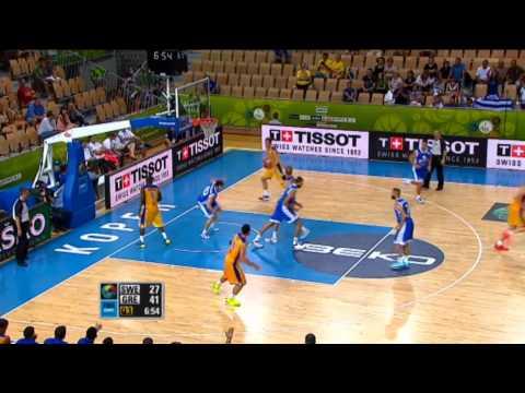 Εθνική Ανδρών | Video :  Κώστας Παπανικολάου στο κάρφωμα της βραδιάς στον αγώνα Ελλάδα - Σουηδία 79-51  [EuroBasket 2013]
