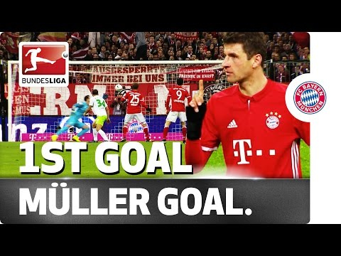 Goal after 999 Minutes - Bayern's Müller Can Finally Celebrate