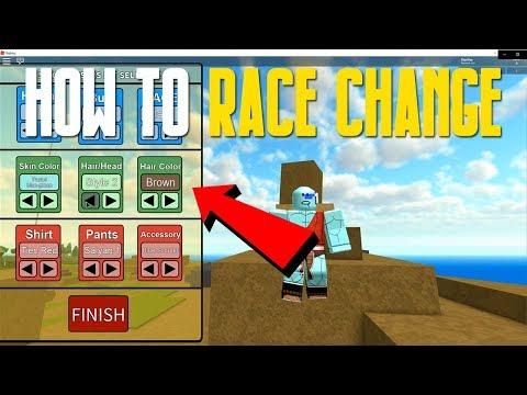 💥 RACE CHANGE SCRIPT!! Dragon Ball Z Final Stand