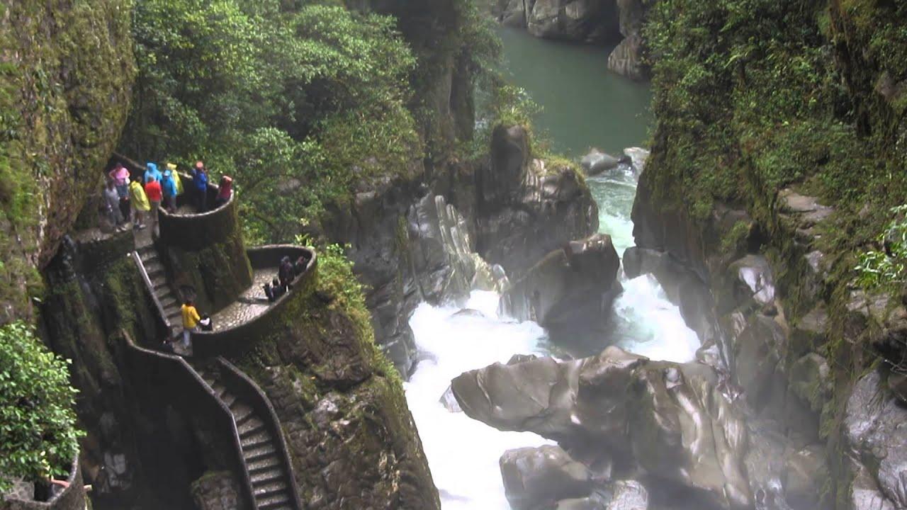 Banos waterfalls