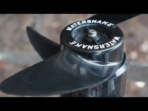 Лодочный электромотор WaterSnake FWT30TH - Через год на воде