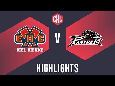 Highlights: EHC Biel-Bienne Vs. Augsburger Panther