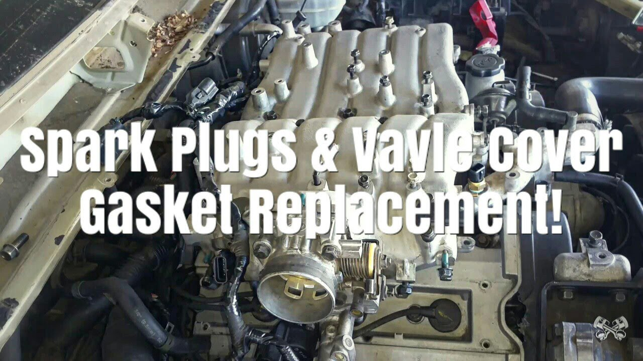 2003 2006 kia sorento spark plugs and valve cover gasket replacement [ 1280 x 720 Pixel ]