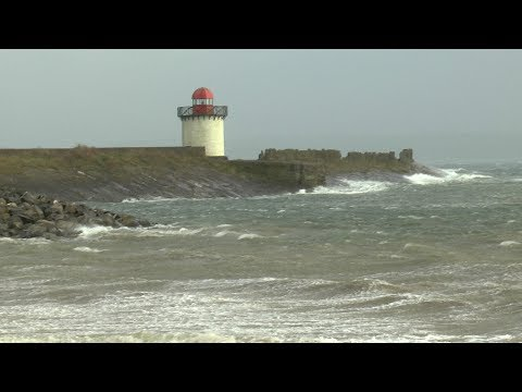 Storm Ophelia touches Burry Port 16/10/2017