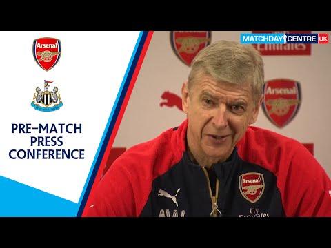 Arsenal vs Newcastle United : Arsene Wenger Press Conference