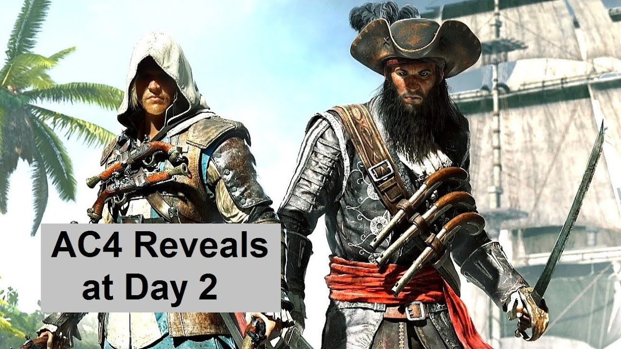 AC4 Multiplayer Purist Mode, DLC Characters Revealed. Assassin's Creed 4  Black Flag - YouTube