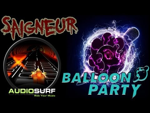 Audiosurf Twitch - Mass Destruction [Balloon Party]